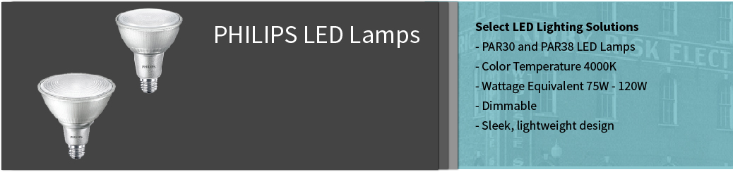 Philips PAR LED Lamps